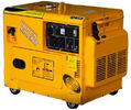 Professional Gasoline Driven Electric Low Noise Air Cooled Generators Heavy 6KW