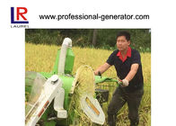 Recoil star 10HP Mini Combine Rice Harvester with 178F Diesel Engine