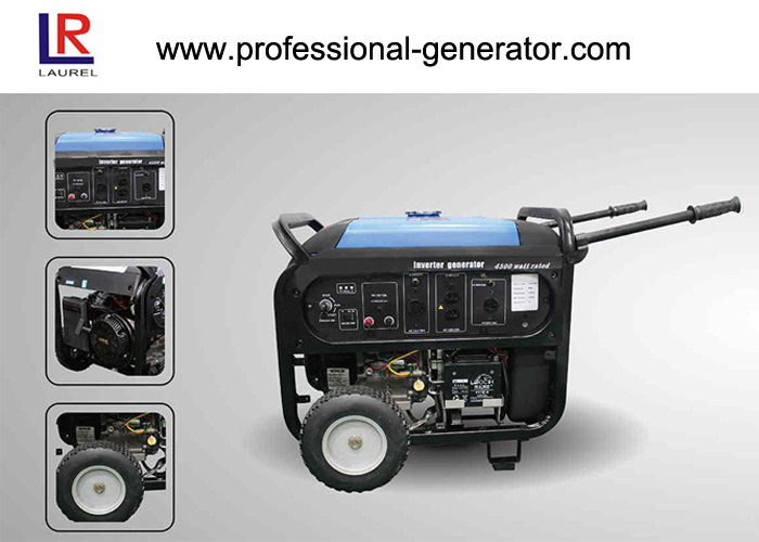 Dual Voltage Unleaded Gasoline 5kVA Portable Inverter Generator Air - cooled OHV