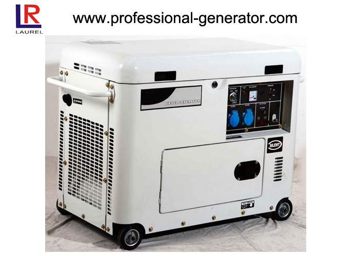 Noise - Reducing 7kw Portable Silent Diesel Fuel Generator 15HP Diesel Engine