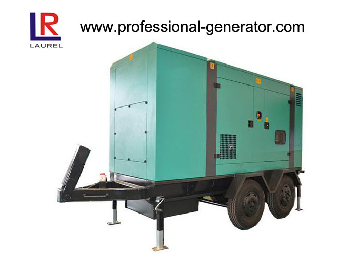 200kw / 250kVA Silent Diesel Mobile Power Generator AC Three Phase