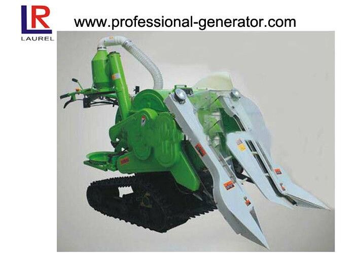 10HP Mini Combine Rice Agriculture Harvester with 178F Diesel Engine , Gear Drive Type