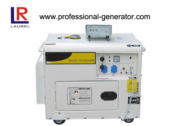 Portable Single phase 2 - 5kw Electric Power Generator Diesel Generator with 10HP Engine