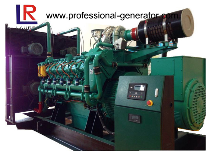 AC 3 Phase 1MW to 50MW Multiple Sets Parallel Natural Gas Generators with 400V / 230V Adjustable