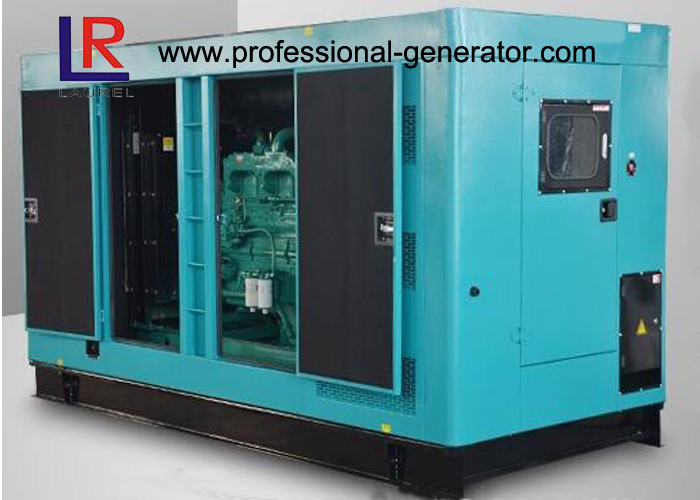 Silent Cummins Diesel Generator Set 180KW / 225kVA with Cummins 6CTAA8.3G2 Engine