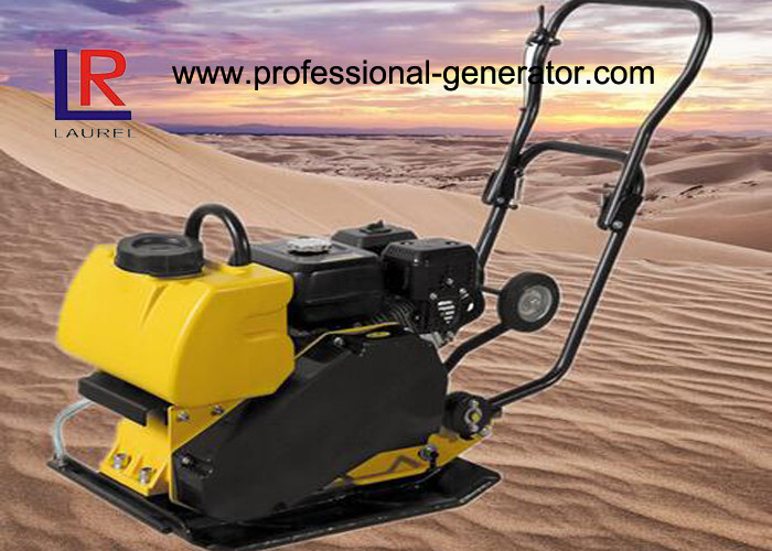 Gasoline Wacker Plate Compactor with 16kn Centrifugal Force with CE Certificate