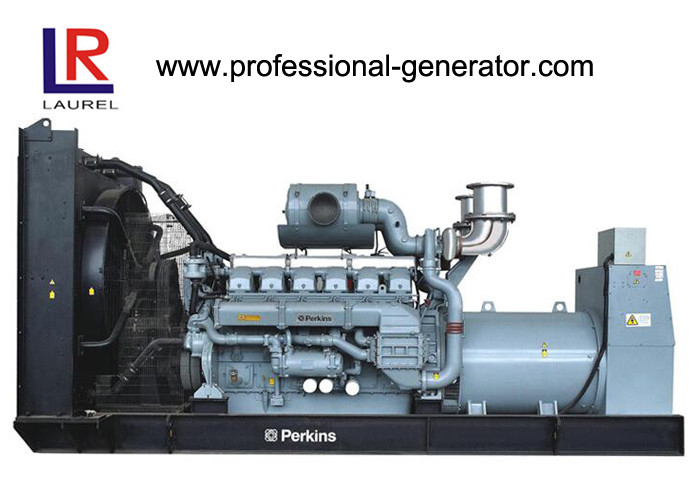 8KW / 10KVA Open Diesel Generator with Electrical Water - cooled Four Stroke Perkins Engine
