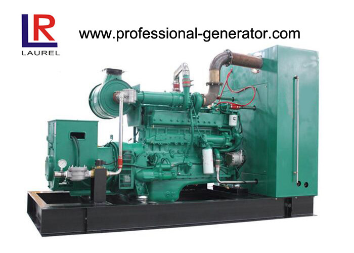 CE Approved Electrical Starting 50kw Biogas Powered Generator Sets with Water Cooling Engine