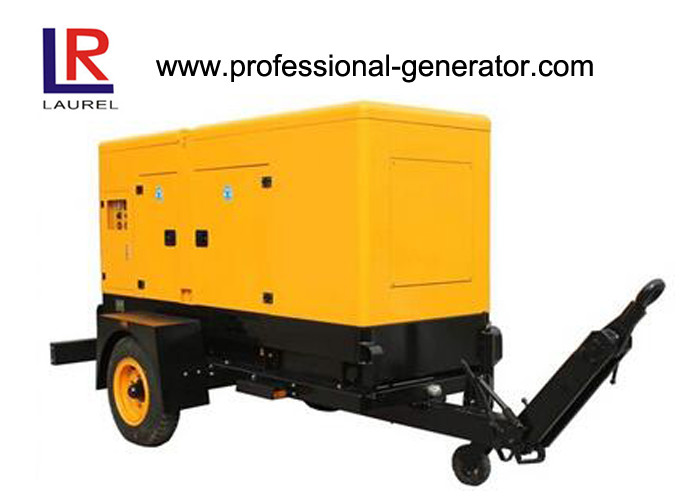 200kVA Silent Trailer Generator Set with Radiator Cooled Electrical Cummins Engine