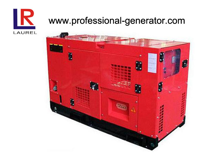 Open Air Working Super Silent 10kva Diesel Generator Set Low Noise Level Canopy