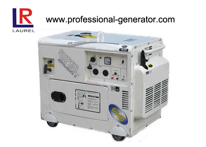 Single Phase / Three Phase Air Cooling Gasoline Generators Set 50Hz / 60Hz