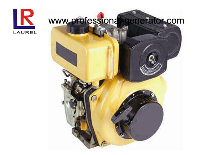 Direct injection Industrial Diesel Engines , Air Cooled Diesel Engines 4 Hp Crankshaft / Camshaft