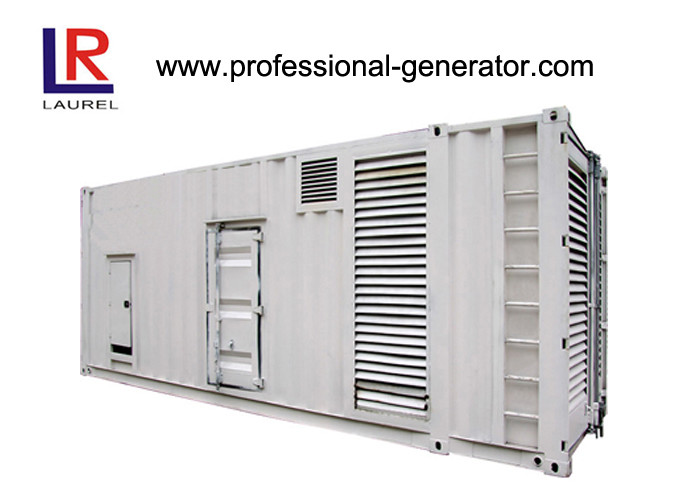 CE Soundproof 1000kVA Diesel Container Generator Set with Electrical Starting AC 3 Phase