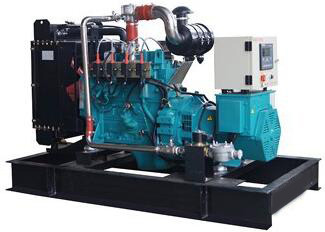 400 / 230V 1000kVA Electric Power Natural Gas Generators with 16 Cylinder , Water Cooling