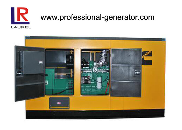 6 Cylinders Mechanical 80kw Silent Diesel Generator Set With Deepsea Controller , Four Stroke