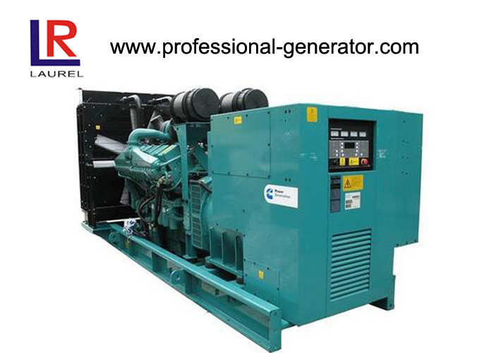 3 Phase 4 Wires Open Type Cummins Diesel Generator Set 250kVA Low Fuel Consumption