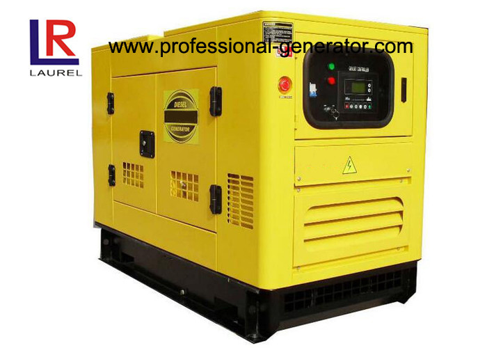 15kVA Small Silent Diesel Generator Set with Perkins Engine , Brushless AC Generator 3 Phase
