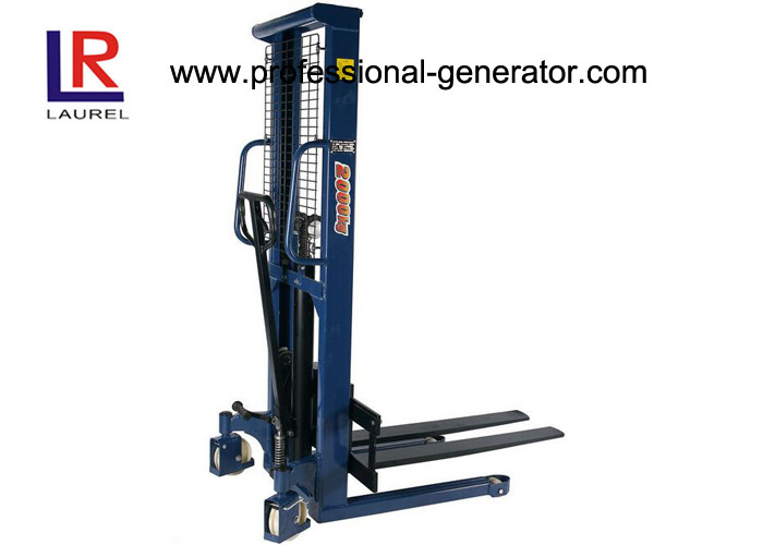 Small 1.0 Ton High Lift Hydraulic Hand Pallet Truck For Warehouse Transport Equipment