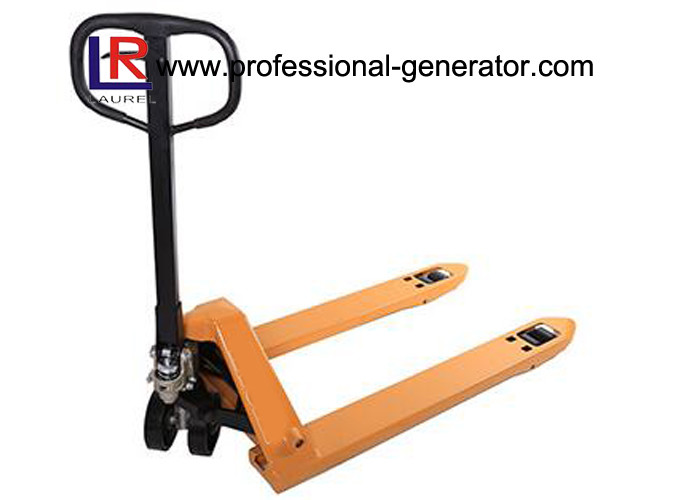 3000kg 1.15m Long Warehouse Transport Equipment Manual Pallet Truck With AC Pump