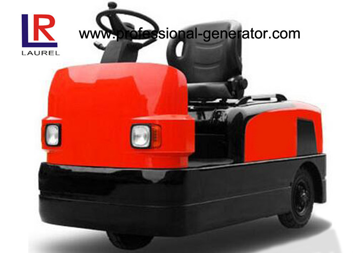 ISO Warehouse Material Handling Equipment Powerful Rider Seated Electric Tow Tractor