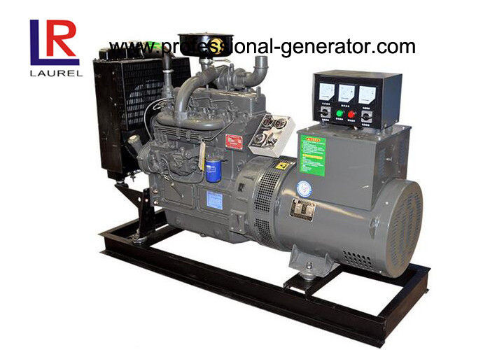 Open Type 3 Cylinders 40kw Diesel Generator Set With 3 Phase And 4 Wires