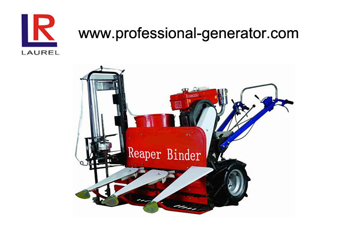 8HP Wheat Reaper Binder Mini Wheat Reaper Binder with 180 water cooling diesel engine