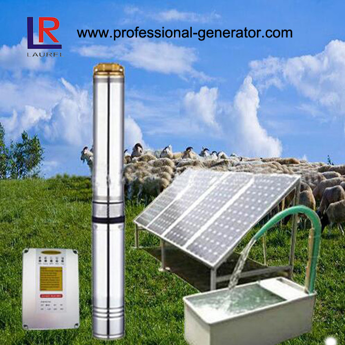 4Inch Solar Agriculture Water Pump System with Solar Panel and Controller