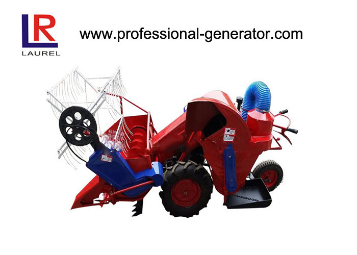 Agricultural Machinery 9HP Mini Combine Harvester with air cooled diesel engine